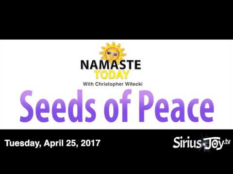 Namaste Today • Seeds of Peace • Tuesday • 4/25/2017