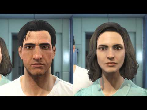 Fallout 4 - Male vs Female Player Voices - 13.5 Hours [SPOILERS]