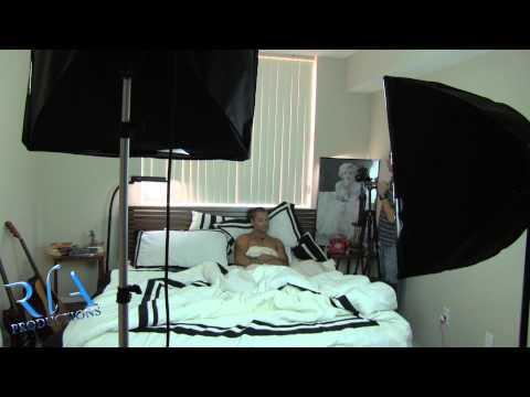 Behind Scene del Videoclip de Enloqueciendo