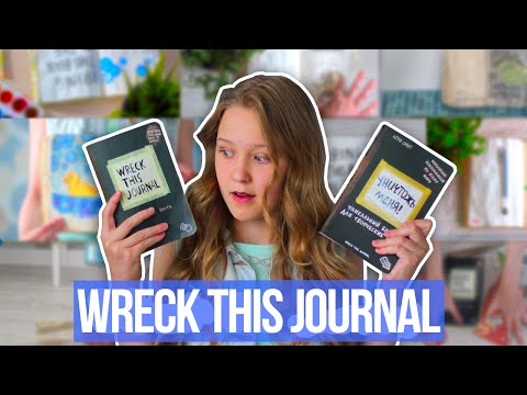 Wreck This Journal   Уничтожь Меня #1