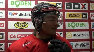 Boden Hockey Jesper Ylivainio