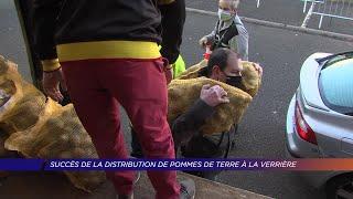 Yvelines | Succès de la distribution de sac de pommes de terre à La Verrière