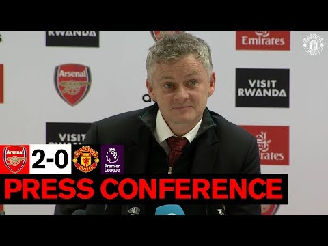 Ole Gunnar Solskjaer | Post Match Press Conference | Arsenal 2-0 Manchester United