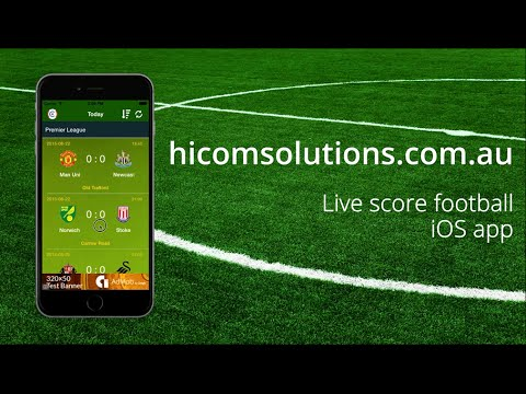 Live score football ios app source code for sale