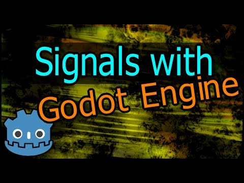 Signals with Godot Engine