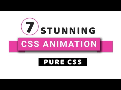 7 Stunning Pure CSS Animations with Codes