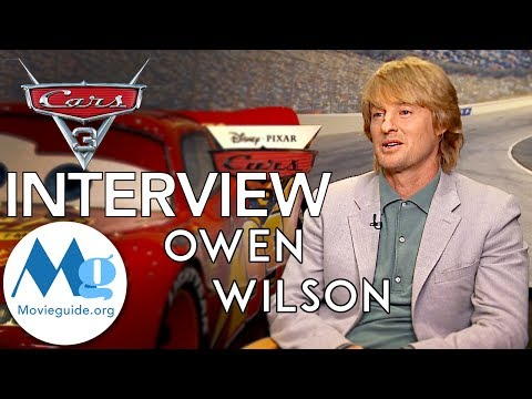 CARS 3 Interview featuring: OWEN WILSON