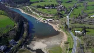 [Drone] Le lac de Pareloup