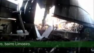 Explosão da Caldeira em Uma Fabrica