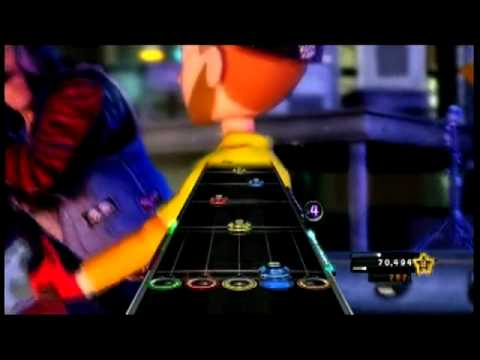 Dancing to guitar hero game a few years ago 7