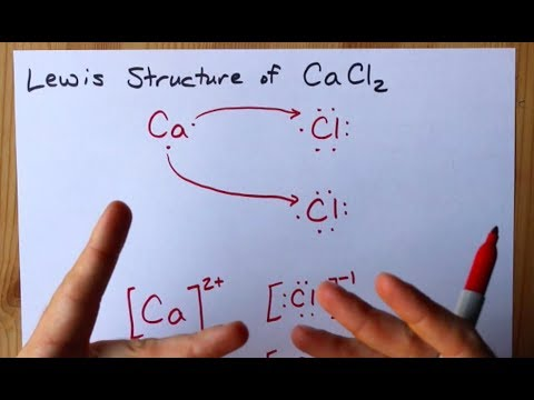 How To Draw The Lewis Structure Of CaCl2 (calcium Chloride, Ionic)