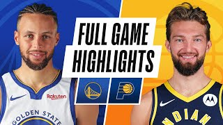 WARRIORS at PACERS | FULL GAME HIGHLIGHTS | February 24, 2021