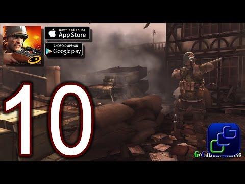 Frontline Commando WW2 Android iOS Walkthrough - Part 10 - Germany