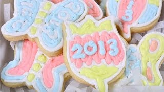 New Year Cookie (cookie Pee Mai)
