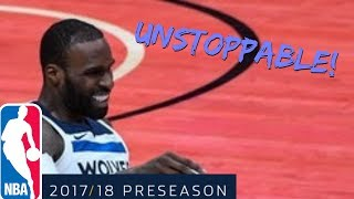Shabazz Muhammad Full PS Highlights vs Timberwolves (9-30-2017) 22 Pts - UNSTOPPABLE!