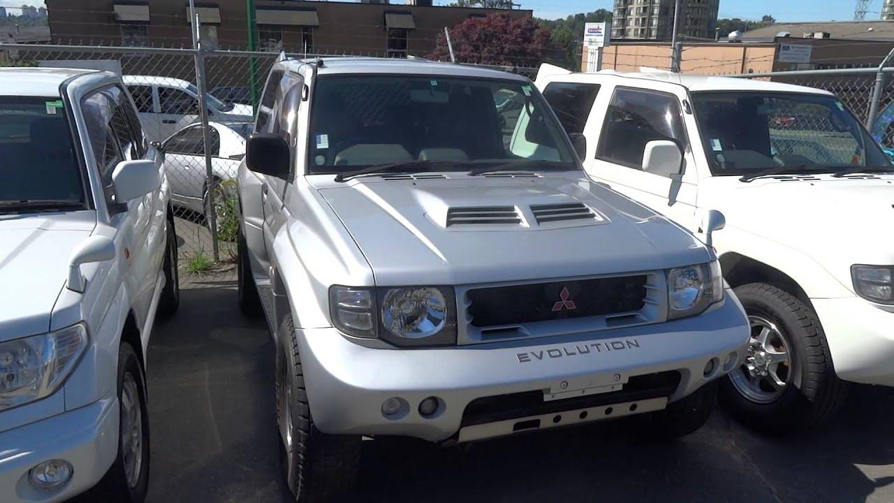 Mitsubishi Pajero Evolution and Pajero iO on Velocity lot for sale in