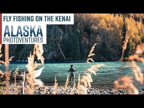 Fly Fishing In Alaska On The Kenai River - Fly Fishing Documentary Film
