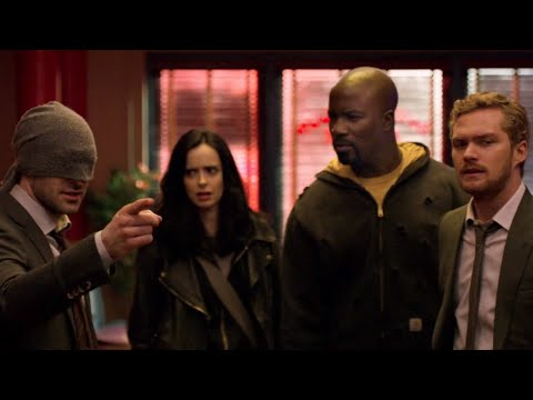 Marvel's The Defenders: Series Premiere Reaction - SDCC 2017