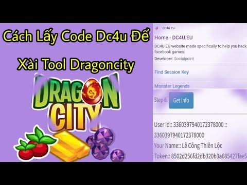 cách hack gem trong dragon city tren may tinh - Cách Lấy Code Trên DC4U Để Xài Tool Hack Dragon City Siêu Dễ