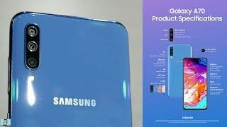 samsung Galaxy A70  быстрый обзор смартфона !
