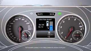 B-клас: активний парковка Assist - автомобіль Mercedes-Benz оригінальний