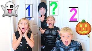 DON'T Trick or Treat WRONG Door! Halloween Mystery Door Challenge!