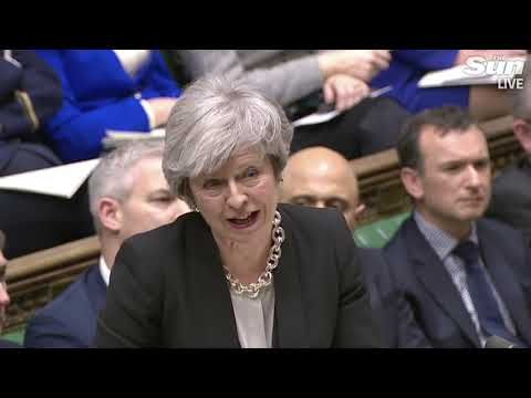 Theresa May debates Brexit deal ahead of tonight's vote (FULL)