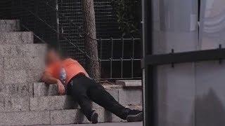Esnifan pegamento y malviven en la Plaza de Pedro Zerolo