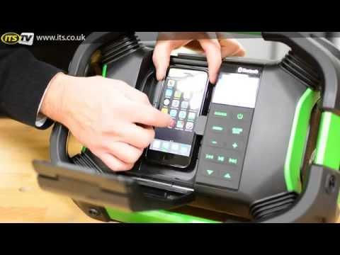 Hitachi UR18DSDL Bluetooth & DAB Jobsite Radio  ITS