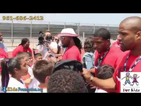 Bobby Wagner & Omar Bolden Inland Empire Football Camp Colony Highschool 2015