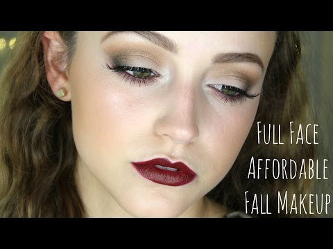ALL Drugstore- Fall Makeup Tutorial!