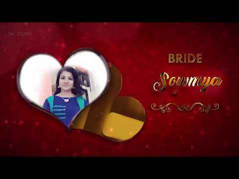 Marriage Invitation Of Jnhanesh & Sowmya