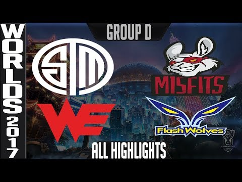 Worlds 2017 Day 7 Highlights ALL GAMES Group D + Tie Breakers