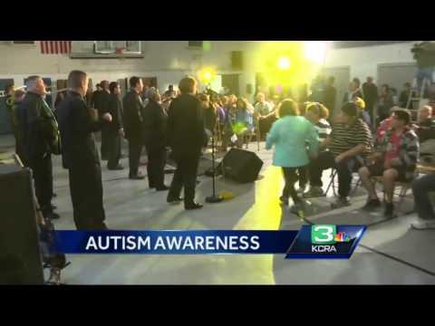 Joey Travolta spotlights Stockton band for Autism Awareness Month