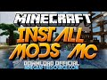 How To Install Mods Minecraft 1.11/1.10.2/1.9.4 w/ Minecraft Forge 1.10.2