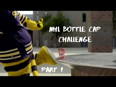 NHL Bottle Cap Challenge Part 1