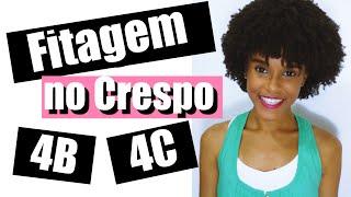 Download lagu Fitagem no Cabelo Crespo 4B 4C Curto com Ativador de Cachos Umidificador da Embelleze ♡