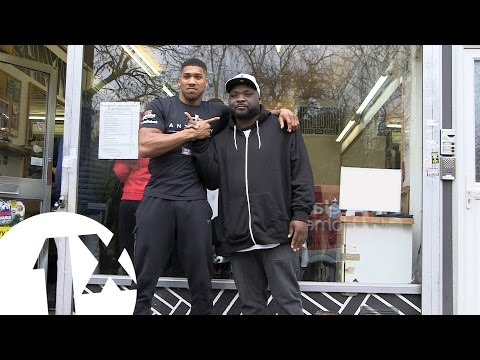 Anthony Joshua: In The Barber
