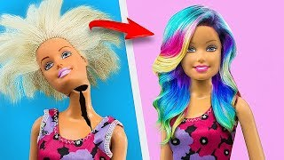 17 Clever Barbie Hacks And Crafts / Old Toys Hacks