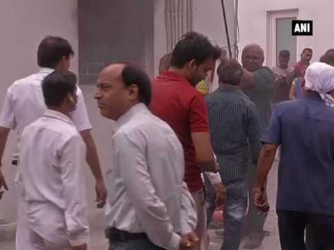 Fire breaks out at All India Congress Committee headquarters - ANI News
