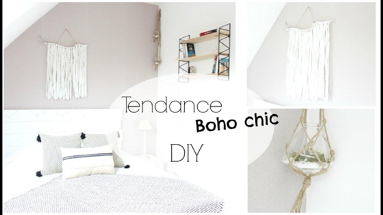 Diy d co tendance boho chic d coration murale youtube for Decoration murale tendance