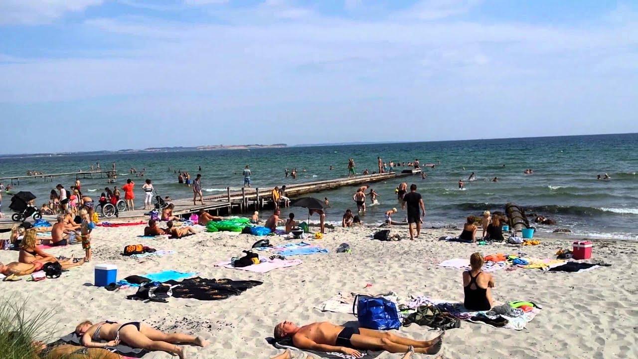 Kåt på stranden
