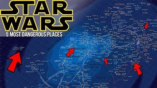 5 Most Dangerous Places in the Star Wars Galaxy | Star Wars Legends Lore
