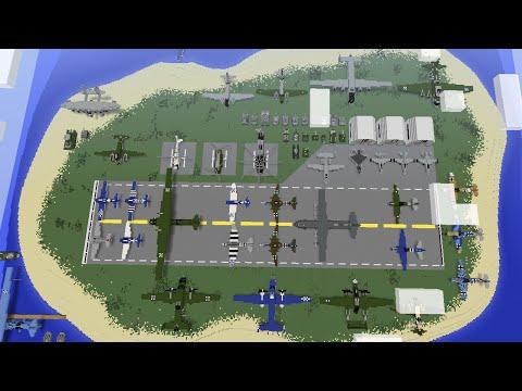 Minecraft Military Base/ World Tour (my tutorial world)