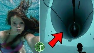 هل تجرؤ على السباحة بجانب هذه الفتاة ؟