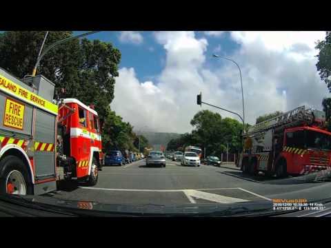 Hutt Valley High School Fire - Emergency Services Responding