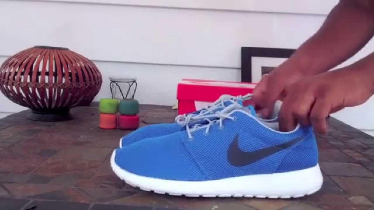 Nike Roshe Run Photo Blue Anthracite Sea Spray