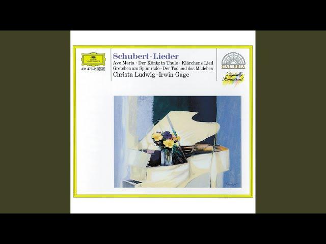 Schubert: Gretchen Am Spinnrad...