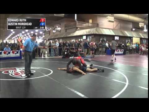 86 kg R3 - Edward Ruth (Sunkist Kids) vs Austin Morehead (TMWC)