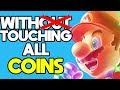 Is it Possible to Beat New Super Mario Bros Wii While Touching Every Coin?